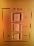 エアコン操作