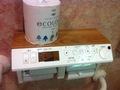ロビートイレの便座操作盤