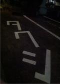タクシー専用駐車スペース