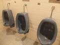 客室階(6F)の男子用トイレ