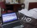 客室内での有線LAN