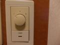 冷暖房はスイッチひとつでした