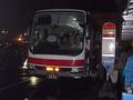 札幌までの直行バスが苫小牧フェリーターミナルから出ています