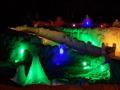 冬季のメインイベントは氷瀑まつりです