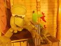 館内の至る所にカエルさんもいました(笑)