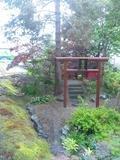 敷地内に龍王神社