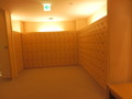 地下1階「スパ・アルパ」のシューズボックス