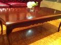 ロビーのテーブル