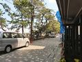 旅館前の参拝道