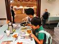 特設会場で楽しむインド料理