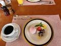 食後のデザート with 珈琲