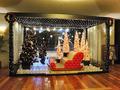 クリスマスのディスプレイ