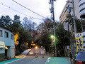 ホテル前から福井城入口へ