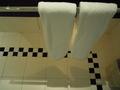 バスルームのタオルです。