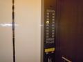 宿泊者専用エレベーター。