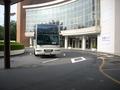 大きな送迎バスです。