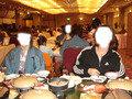 エビとアワビとズワイガニの豪華夕食