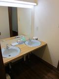 共同手洗い場の様子