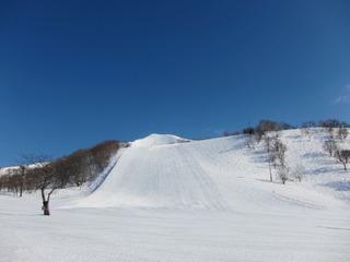 近隣のスキー場の様子