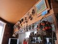 喫茶エリアカウンターの装飾の様子