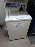 洗濯機の様子