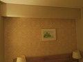 客室の壁の様子