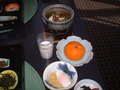 朝食です。