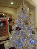 ホテル内レストランもクリスマス一色
