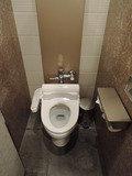 レストラン階のトイレ