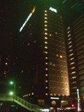 良く目立つ高層ホテル