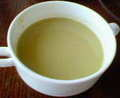 ランチのスープ