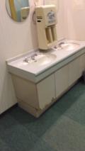 トイレの手洗い場