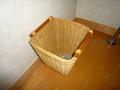 タオルを入れる籠
