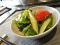 みずみずしいサラダ(鉄板焼 恵比寿)