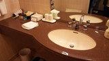 ツインルームの洗面所