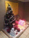 1階のクリスマスツリー