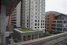 壷川駅から見たホテル