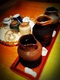 日本酒の利き酒3種