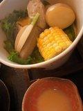 朝食 タジン鍋料理も1人1つ!