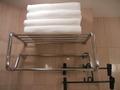 バスルームのバスタオル