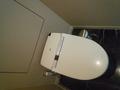 お部屋のお手洗いもスペースが広い