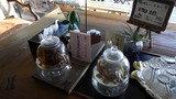 喫茶コーナーのお茶
