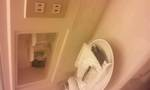 バスルームのコンセント部分