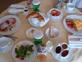 朝食ルームサービス