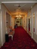 ダンスフロア前の廊下です