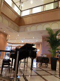 ロビーにあるピアノ