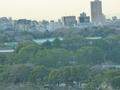 皇居が見えます~(本館17階からの眺望)