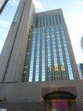 2階ロビーからの眺望・帝国ホテルインペリアルタワー