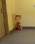 本館 客室階の消火器