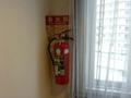 客室階の消火器